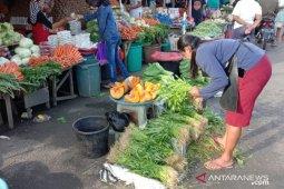 Harga sayur produksi petani lokal di Ambon naik