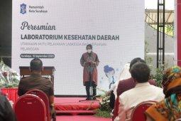Risma resmikan Labkesda untuk swab gratis warga Surabaya