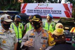 Polres Gresik luncurkan Mobil Pemburu Pelanggar Protokol COVID-19