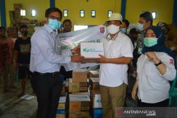 BPJamsostek Gorontalo salurkan bantuan ke korban bencana Bulawa