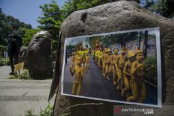 Pameran fotografi seni pertunjukan Bandung