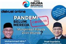 Partai Gelora Depok: Perlu pertimbangan matang Pilkada dilanjut atau tidak