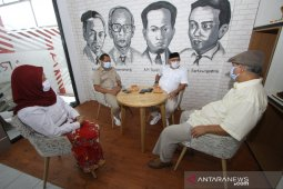 Haris Makkie-Ilham Noor Kunjungi Kantor LKBN Antara Biro Kalsel