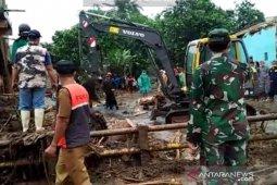 Data sementara rumah terdampak banjir bandang Sukabumi ada 289 unit
