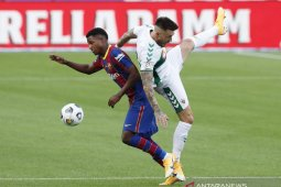 Ansu Fati perpanjang kontrak di Barcelona
