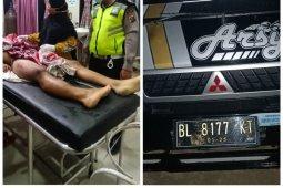 Tabrakan dengan L300, pengendara sepeda motor meninggal di Besitang Langkat