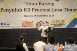 Temu bareng penyuluh KB Jawa Timur