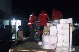 PMI salurkan berbagai paket bantuan logistik untuk korban banjir Cianjur