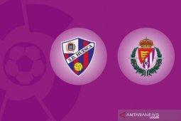 Huesca dan Valladolid  gagal petik kemenangan perdana