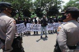 Unjuk Rasa Mahasiswa di Kota Kediri