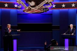 Sorotan untuk debat final Donald Trump vs Joe Biden