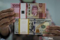 Kurs rupiah ditutup menguat tipis di tengah pelemahan mata uang Asia