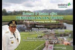Adaro Indonesia Ucapkan Selamat atas Penghargaan Proklim Utama