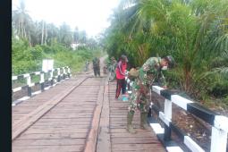 TMMD berikan peninggalan berharga kepada warga pelosok Pulau Hanaut