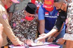 Gubernur Malut kukuhkan FK-TAGANA