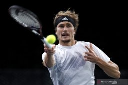 Tenis, Zverev pupuskan mimpi Nadal juarai Paris Masters perdana di semifinal