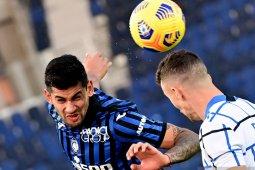 Liga Italia, duel Atalanta kontra Inter hanya berakhir imbang 1-1