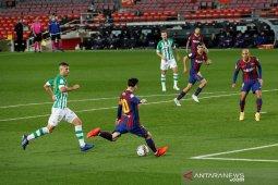 Liga Spanyol, Gol non-penalti pertama Messi warnai kemenangan Barcelona atas Betis