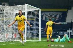 Liga Inggris, gol larut Harry Kane menangkan Tottenham di markas West Brom