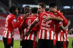 Liga Belanda, PSV Eindhoven gasak 10 pemain Willem II tiga gol tanpa balas
