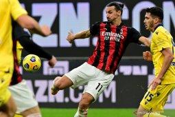 Liga Italia, Milan bangkit dari tertinggal dua gol untuk imbang 2-2 dengan Verona