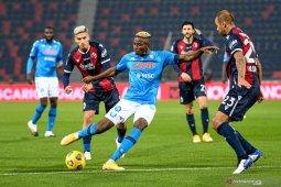Liga Italia, gol semata wayang Osimhen bawa Napoli menang 1-0 atas Bologna
