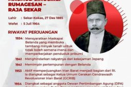 Pumpunan - Macmud Singgirei Rumagesan, Pahlawan Nasional pertama dari Papua Barat