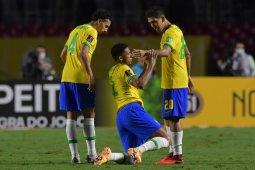 Gol tunggal Firmino bawa Brazil raih kemenangan atas Venezuela