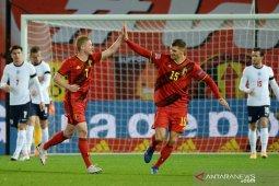 Belgia pupus mimpi Inggris ke empat besar Nations League