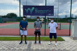Nathan Barki wins 2 titles at Singapore ITF World Tennis Tour Juniors