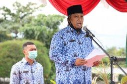 Peringati HUT PGRI dan KORPRI 2020, Plt Bupati Lombok Utara Serukan Persatuan