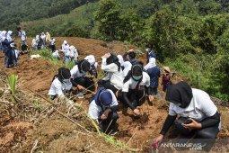 Gerakan pelajar menanam Jahe merah