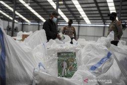 Logistik protokol kesehatan Pilkada Kabupaten Bandung