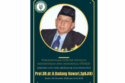 Prof Dadang Hawari meninggal