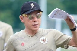Pelatih Shin Tae-yong minta otoritas izinkan liga Indonesia bergulir
