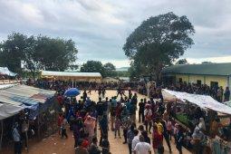 Masyarakat membludak tonton turnamen voli Tanjung Gundap