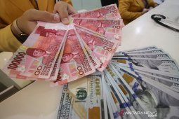 Kurs rupiah menguat 8 poin menjadi Rp14.110 per dolar AS