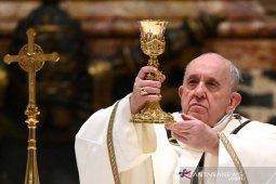 Paus  doakan Indonesia menyusul aksi teror bom di Makassar