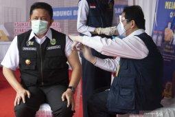 Gubernur Sumsel awali suntik vaksin COVID-19  dari wilayah perbatasan