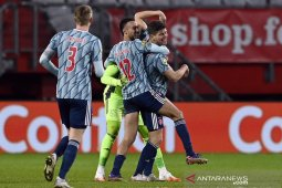Ajax kembali perlebar jarak di puncak, setelah pecundangi Fortuna Sittard