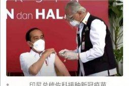Jokowi dongkrak pamor vaksin Sinovac