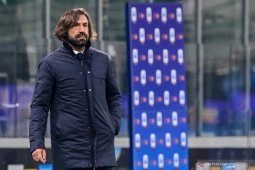 Pirlo akui Juventus tampil buruk ketika dipecundangi Inter Milan