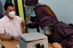 Vaksinasi nakes di Bandarlampung tidak serentak