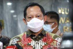 Mendagri Tito Karnavian beri masukan calon Kapolri soal soliditas internal
