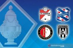 Feyenoord dan Heerenveen ke perempat final Piala KNVB