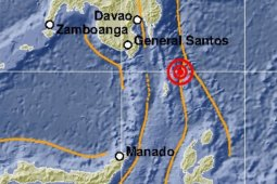 Gempa magnitudo 7,1 Talaud akibat subduksi Lempeng Filipina