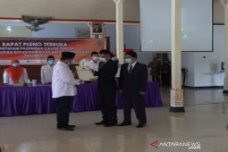 KPU menetapkan Bupati dan Wakil Bupati Gunung Kidul terpilih