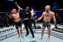 Dustin Poirier pukul KO Conor McGregor dalam pertarungan UFC