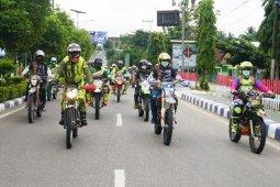 Wagub Habib Ismail dan Bupati Nadalsyah ramaikan touring trail KJG