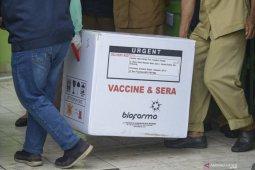Sumsel terima 40.360 dosis vaksin  COVID-19 Sinovac tahap II